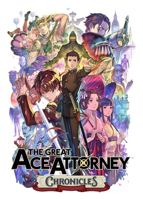 Cover of The Great Ace Attorney Chronicles